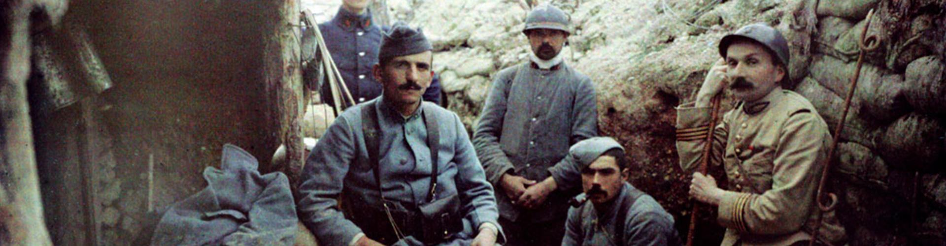 Bannière Première Guerre mondiale