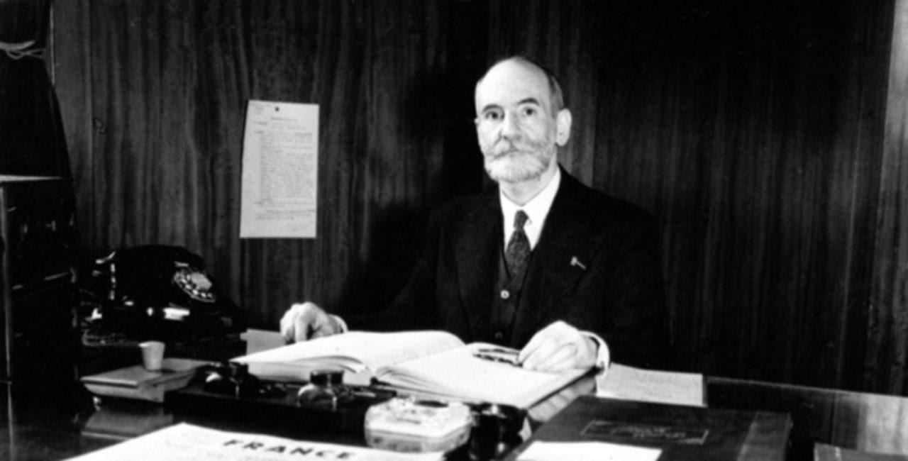 Bannière René Cassin, une vie au service de l'homme