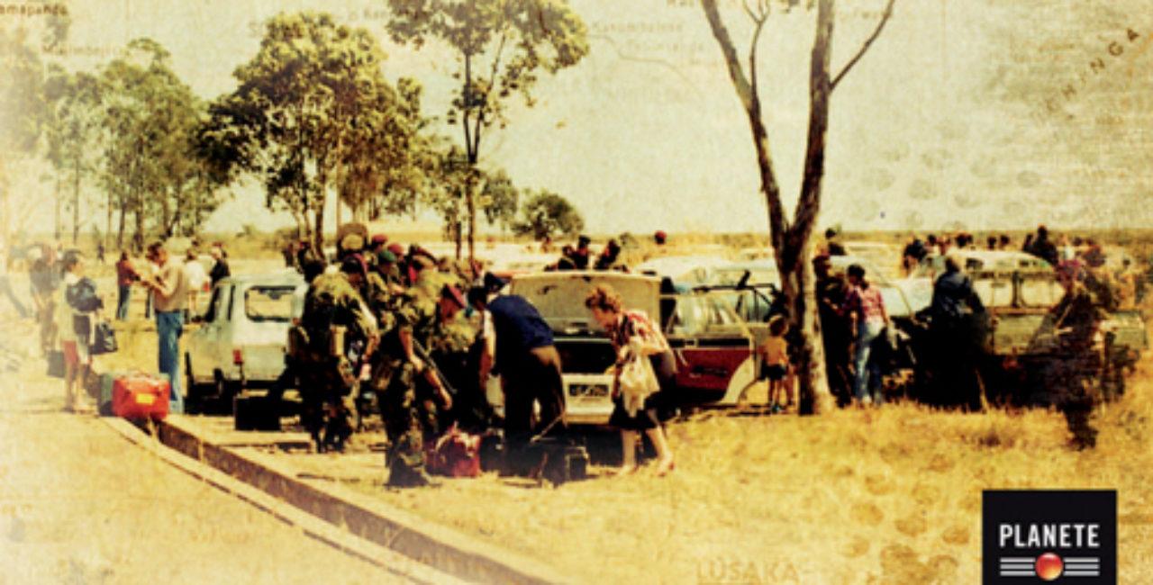 Bannière Kolwezi, chronique d'une prise d'otages