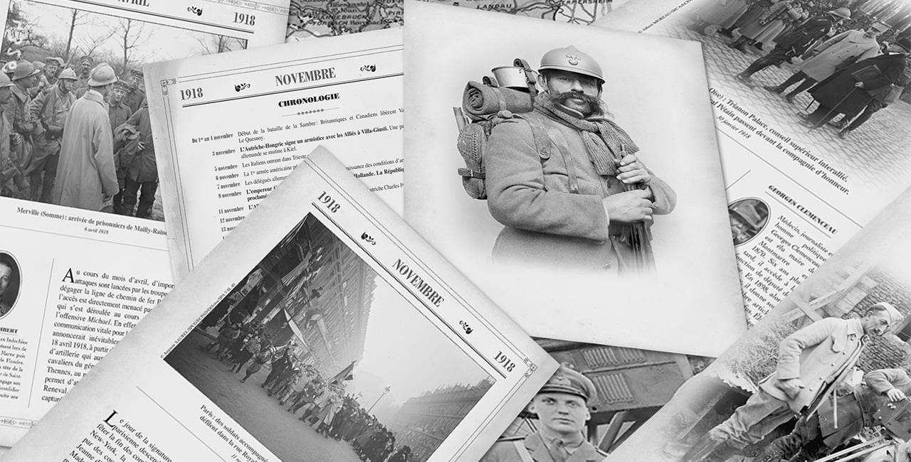 Bannière Almanach 1918