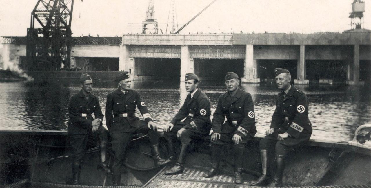 Bannière Les bases sous-marines nazies