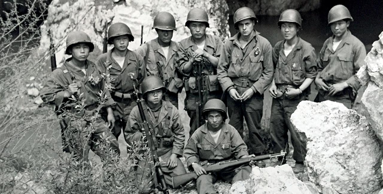Bannière Corée, nos soldats oubliés