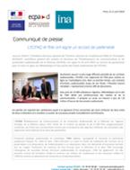 Bannière L'ECPAD et l'INA ont signé un accord de partenariat