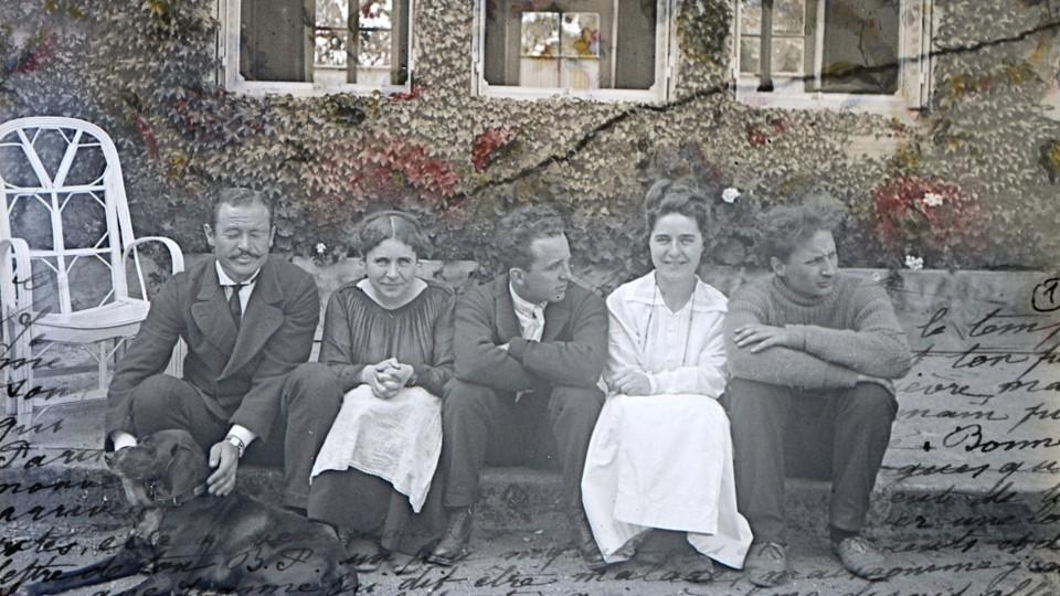 Bannière La cicatrice, une famille dans la Grande Guerre