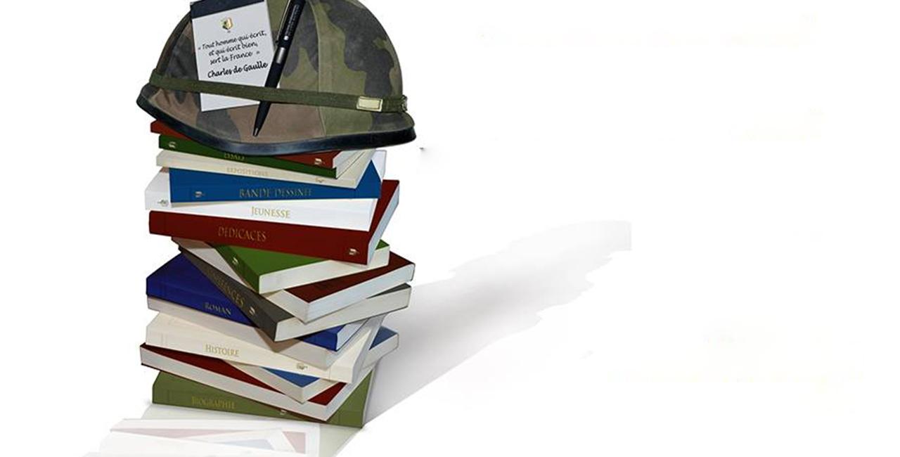 Bannière L'ECPAD participe au Festival International du Livre Militaire