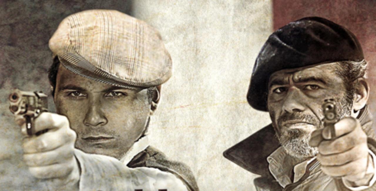 Bannière Au soldat inconnu, les enfants de la Résistance