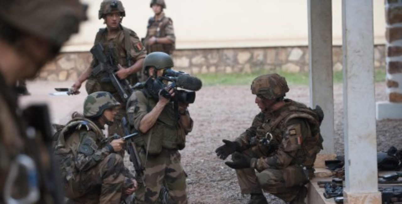 Bannière Les soldats de l'image