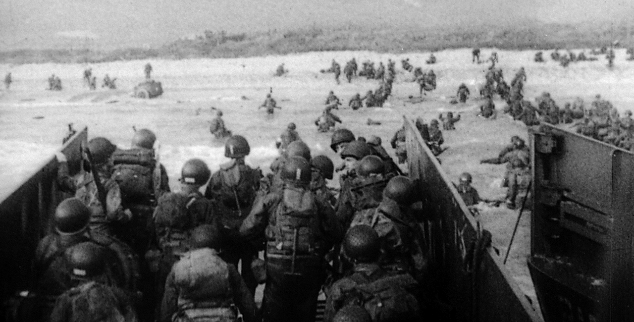 Bannière Le débarquement du 6 juin 1944 et la bataille de Normandie