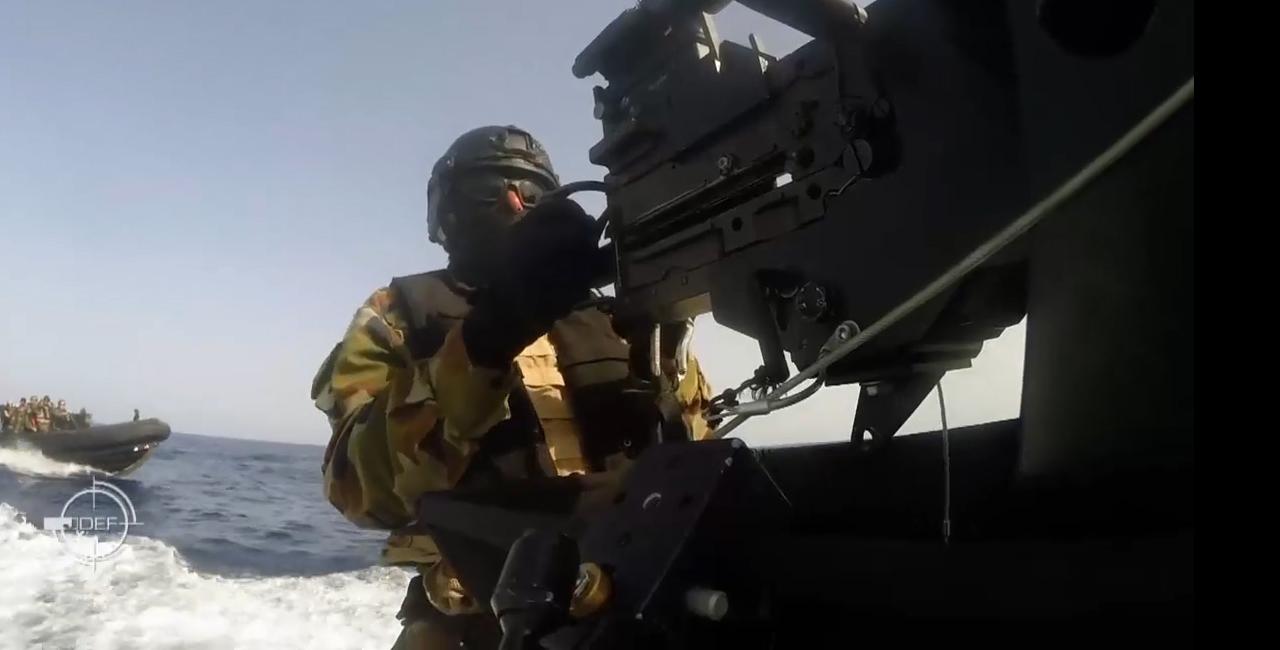Bannière Le 7ème Commando Marine