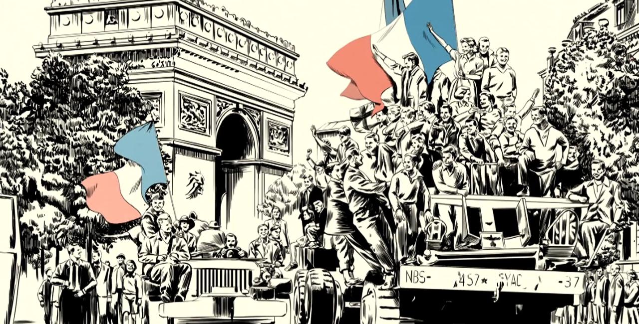Bannière Où étiez-vous le 8 mai 1945 ?