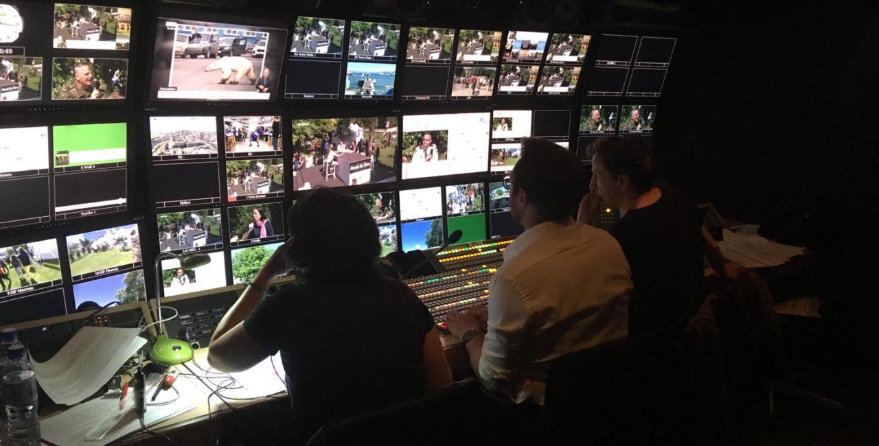 Bannière L'ECPAD a assuré la couverture audiovisuelle de la Journée nationale des blessés de l'armée de Terre