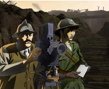 L'expérience immersive en réalité augmentée (VR) s'inscrit dans le prolongement d'Apocalypse 10 destins. Elle en reprend les codes graphiques et narratifs, intégrant au décor en 3D les personnages 2D de la fiction.