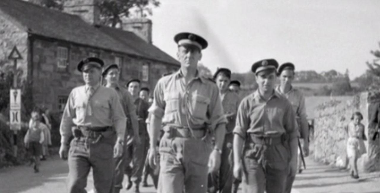 Bannière Le «commando Kieffer»