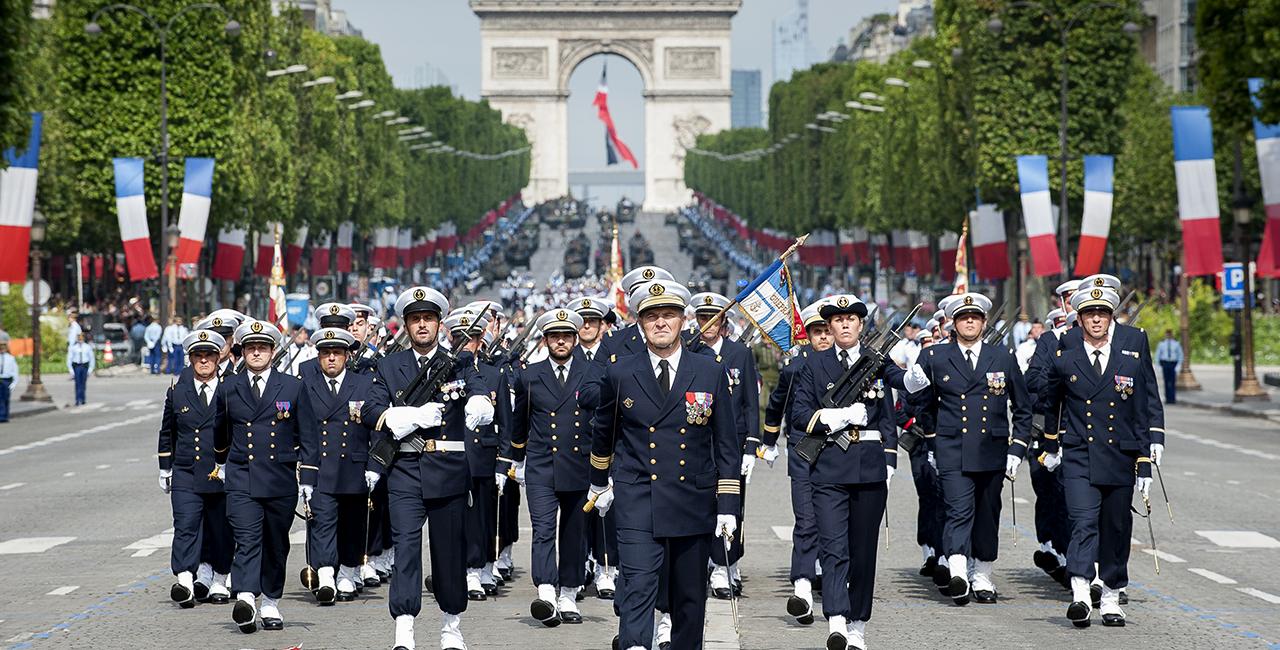 Bannière 14 juillet, une histoire française