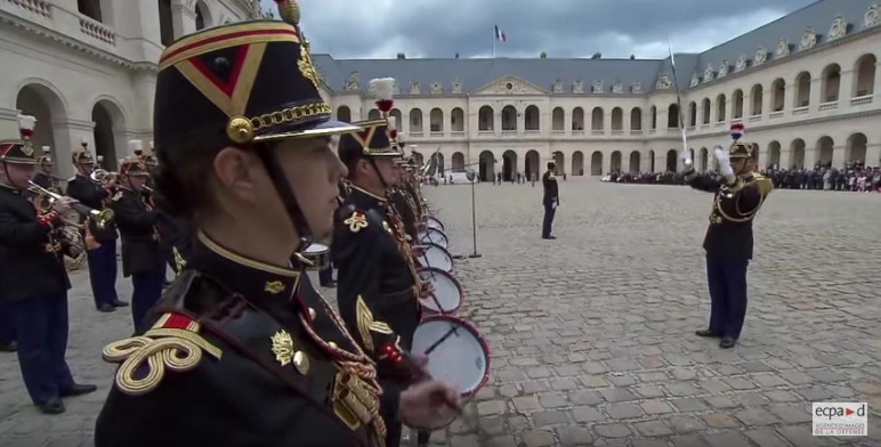 Bannière Cérémonie en hommage aux morts pour la France en Indochine