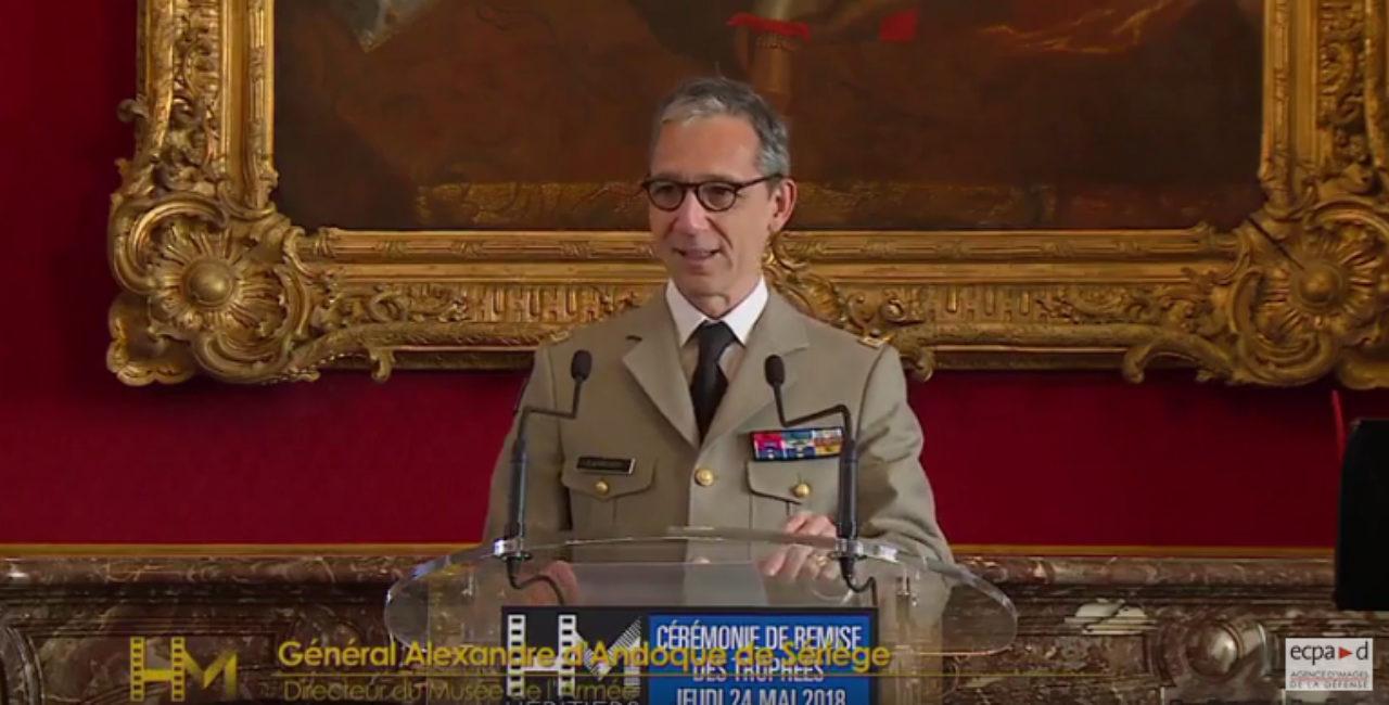 Bannière Héritiers de mémoire – Reportage de la cérémonie 2018