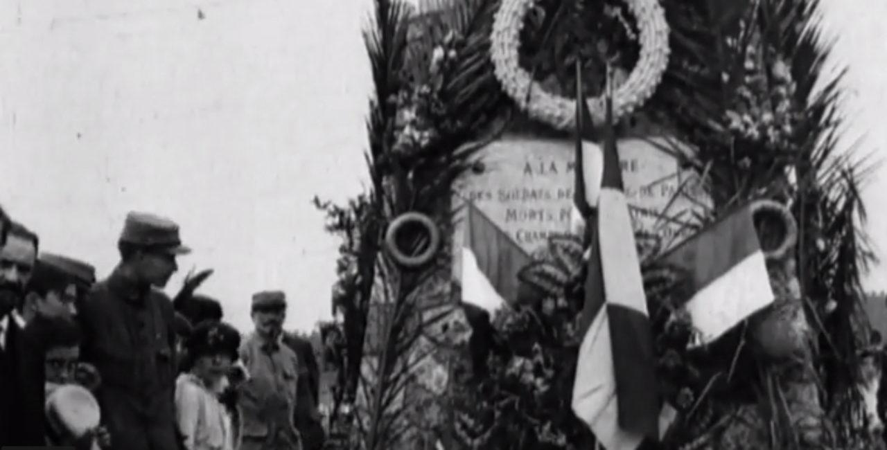 Bannière Héritiers de mémoire – Projet «De la guerre à la paix» – Collège Émile Guillaumin à Moulins