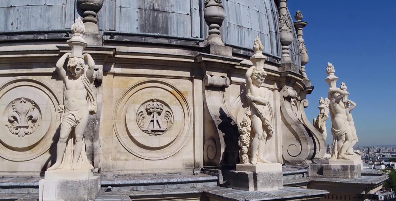 Bannière Restauration des statues du Val-de-Grâce