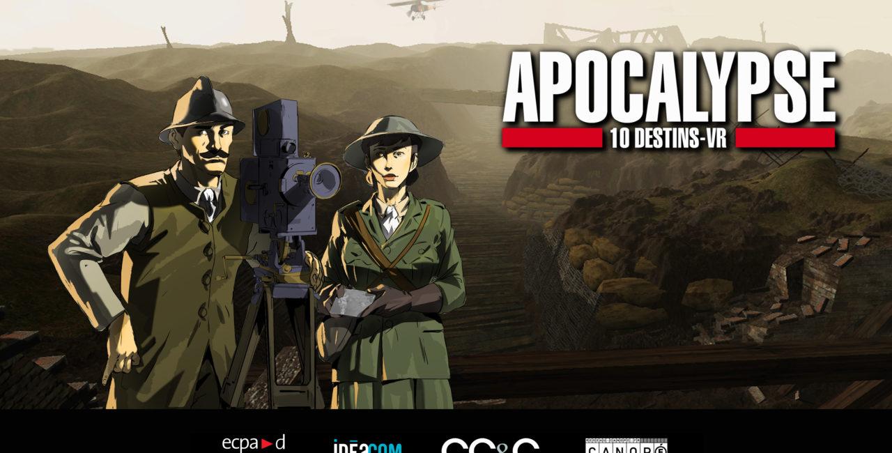 Bannière L'ECPAD présente Apocalypse 10 Destins VR au Festival Escales documentaires 2019