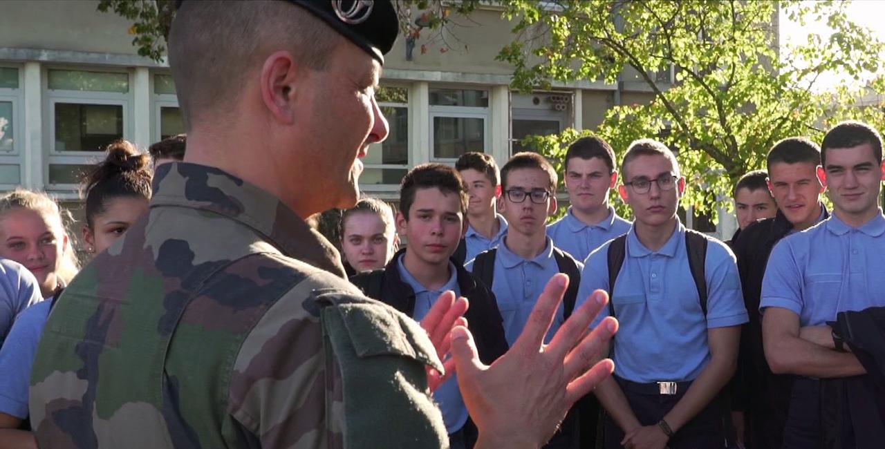 Bannière Lycée militaire de La Flèche
