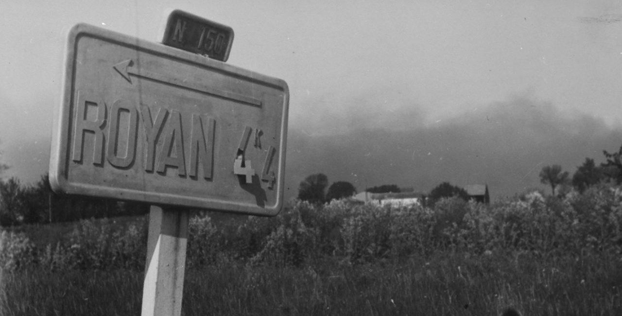 Bannière Royan : la malédiction de la libération