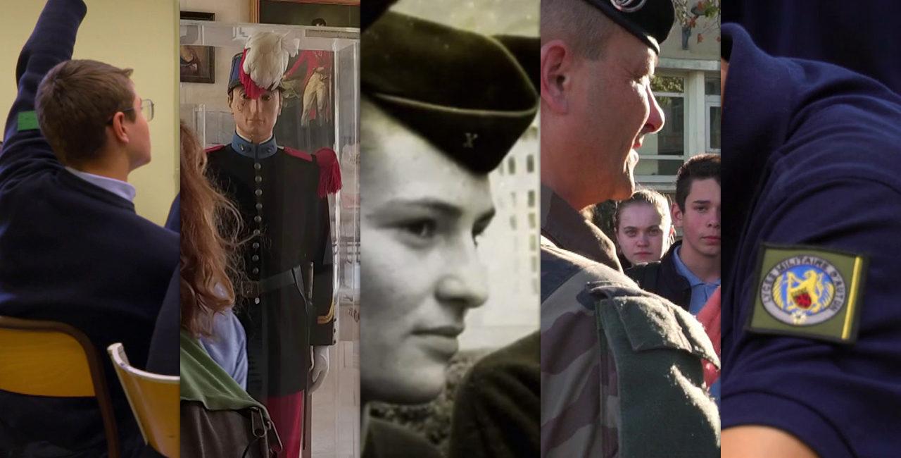 Bannière Une collection audiovisuelle présente les lycées militaires