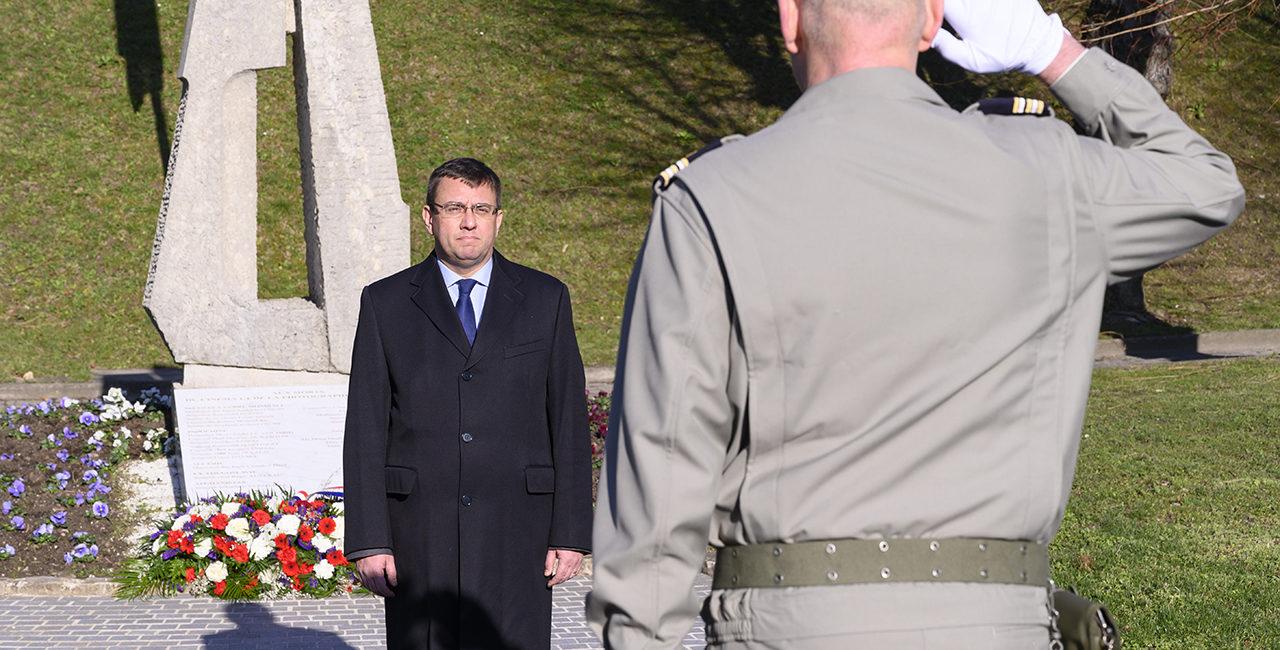 Bannière Laurent Veyssière, nouveau directeur de l'ECPAD
