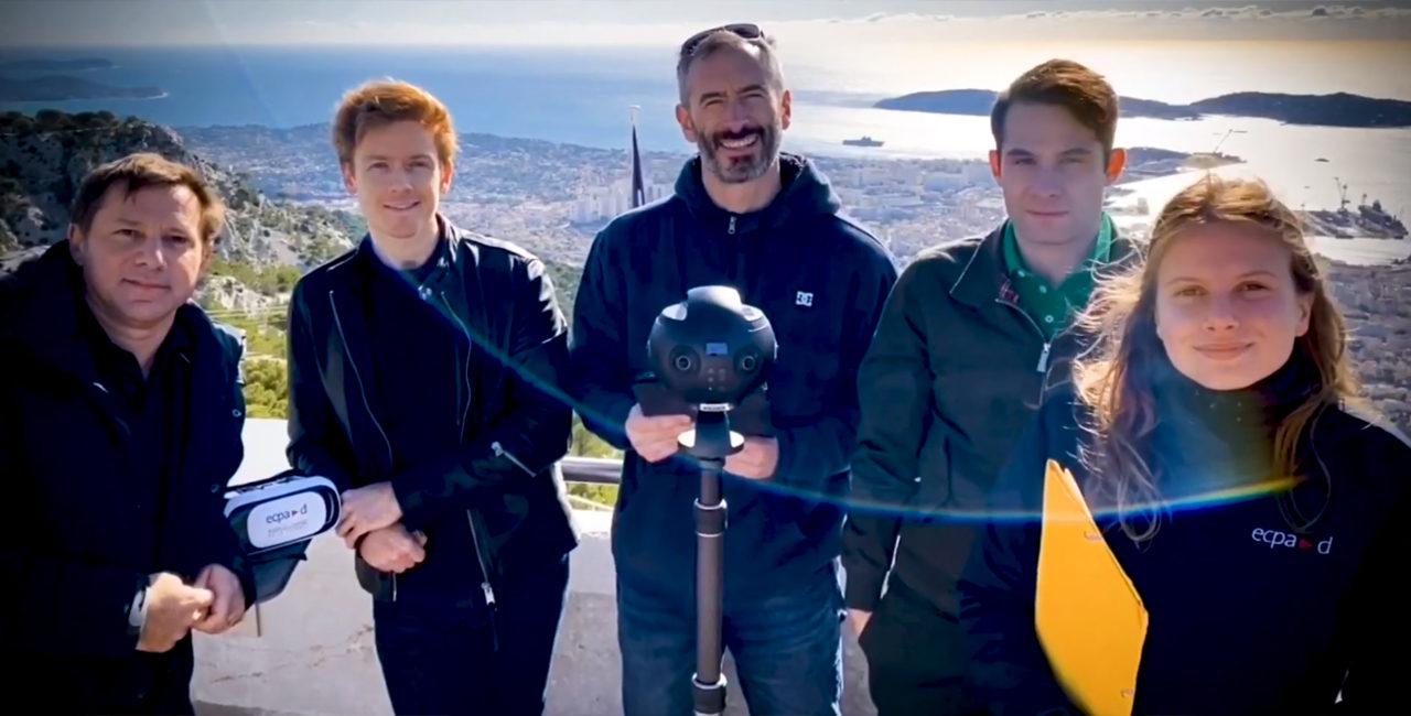 Bannière Making of d'un tournage en 360° au Mont-Faron