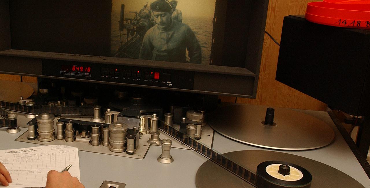 Bannière Des courts-métrages d'étudiants à partir d'archives de l'ECPAD