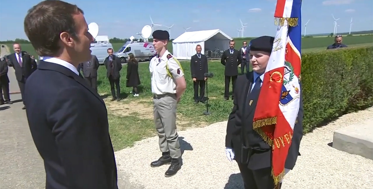 Bannière Cérémonie de commémoration des combats de Montcornet et de la Bataille de France