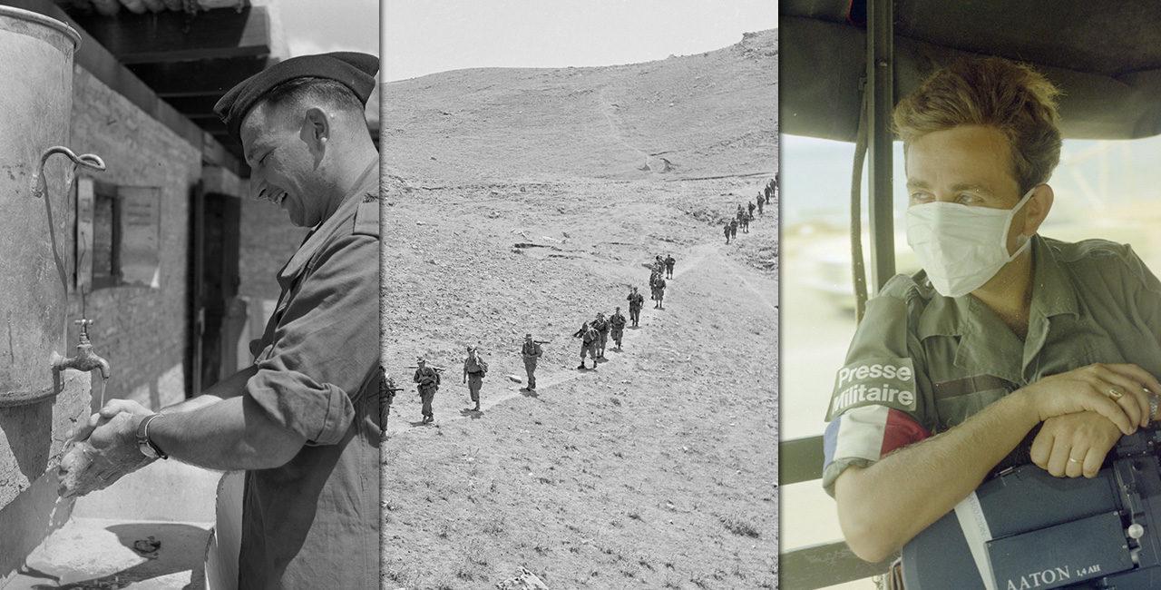 Bannière Révisez les gestes barrières grâce aux archives photos de l'ECPAD