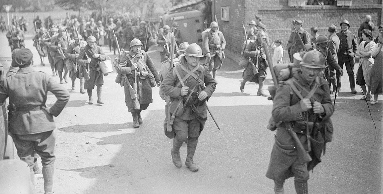 Bannière La bataille de France : 10 mai – 22 juin 1940 (vue du côté français)