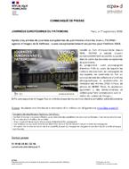 Bannière Journées européennes du patrimoine 2020