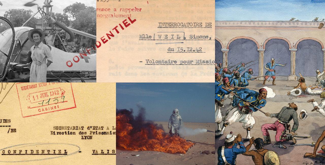 Bannière Archives secrètes des armées, une nouvelle coédition du ministère des Armées avec Gallimard