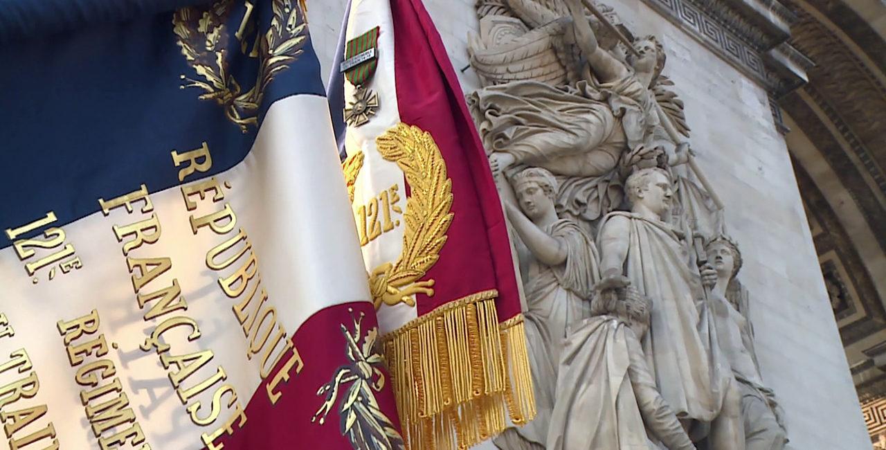 Bannière Le film du centenaire du 121e régiment du train de Montlhéry.