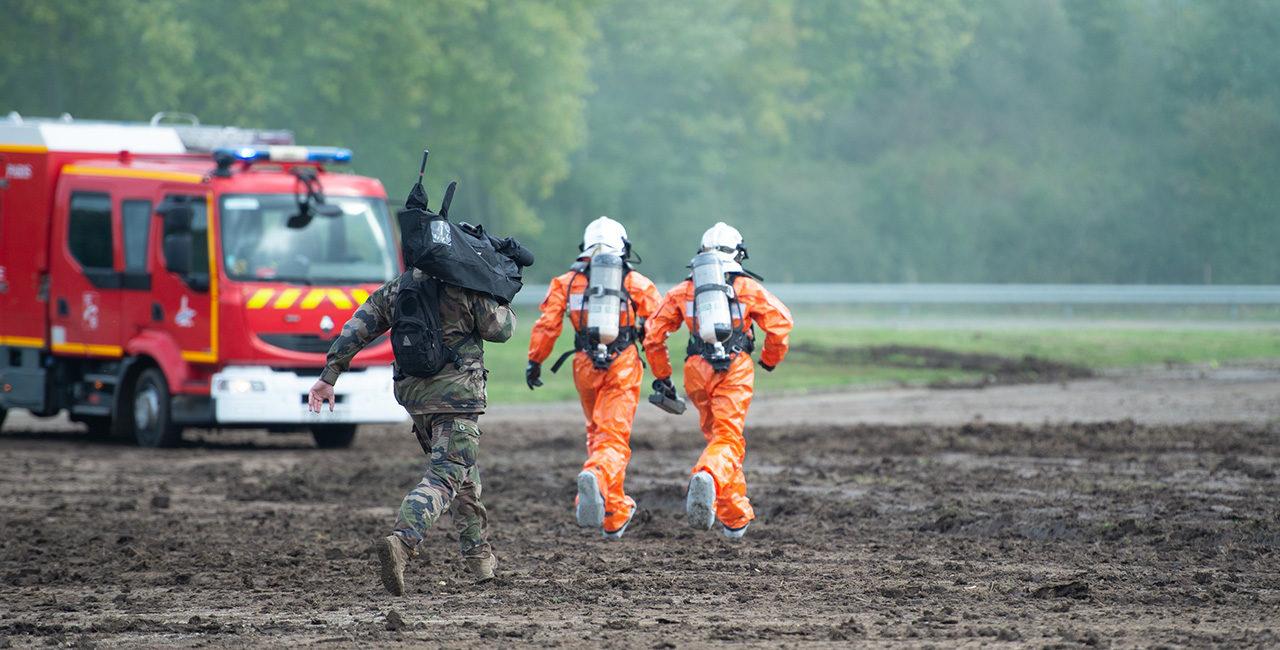 Bannière Les équipes de l'ECPAD se sont mobilisées pour la présentation des capacités de l'armée de Terre