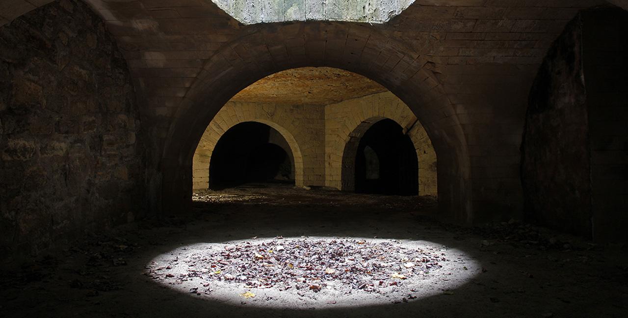 Bannière Immersion dans les carrières du fort d'Ivry