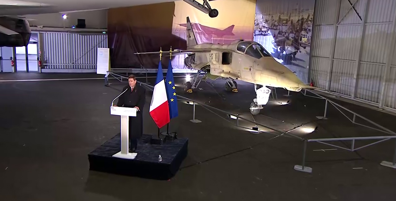Bannière Retour sur la cérémonie d'intégration du Jaguar A91 dans les collections du musée de l'Air et de l'Espace du Bourget