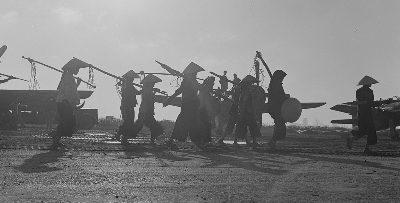 Bannière Raymond Cauchetier, de l'Indochine aux plateaux de cinéma