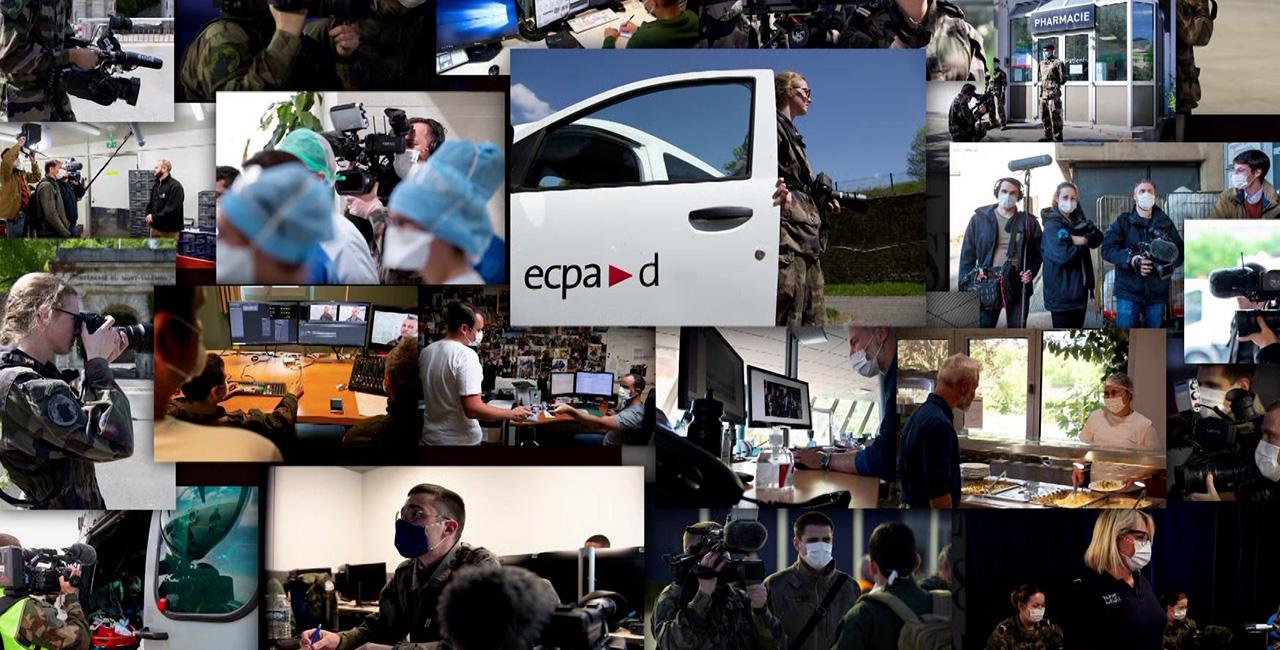 Bannière L'ECPAD en 2020 : une activité bouleversée mais toujours foisonnante