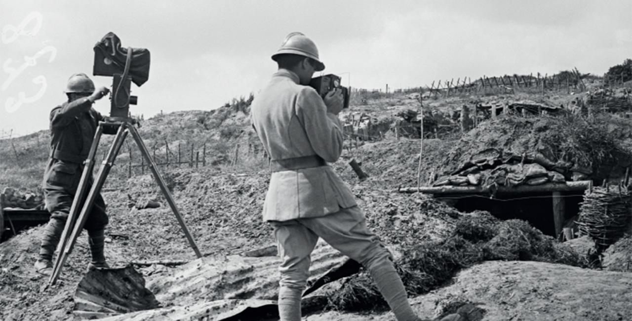 Bannière Catalogue de l'exposition « Derrière les images. Photographier la guerre »