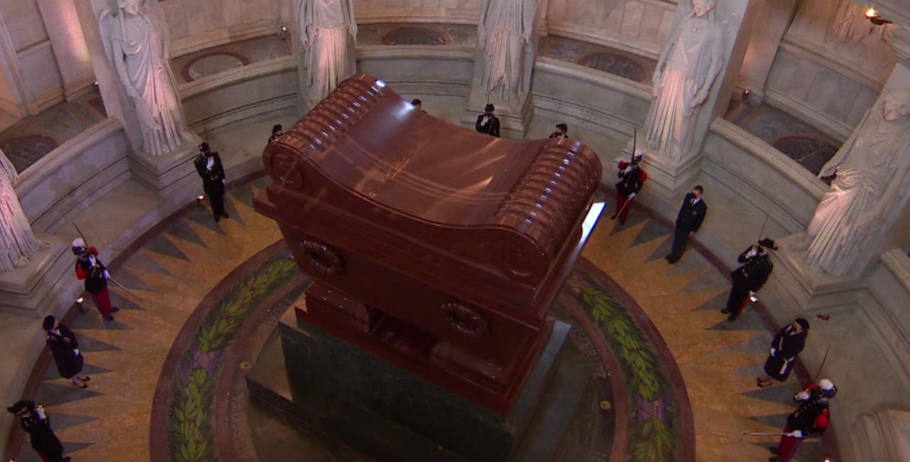 Bannière Commémoration du bicentenaire de la mort de Napoléon Ier