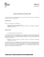 Bannière Conseil d'administration du 3 juillet 2018