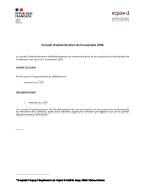 Bannière Conseil d'administration du 5 novembre 2019