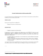 Bannière Conseil d'administration du 6 novembre 2018