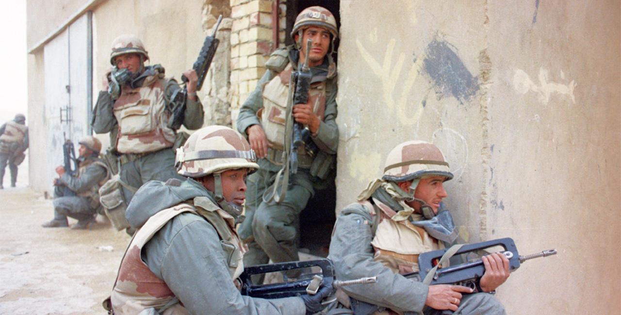 Bannière Daguet, une division française dans la guerre du Golfe 1990-1991, le nouvel ouvrage de l'ECPAD