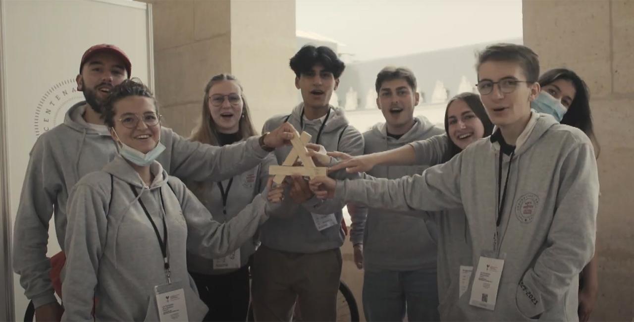 Bannière L'ECPAD présent lors des Olympiades de la jeunesse