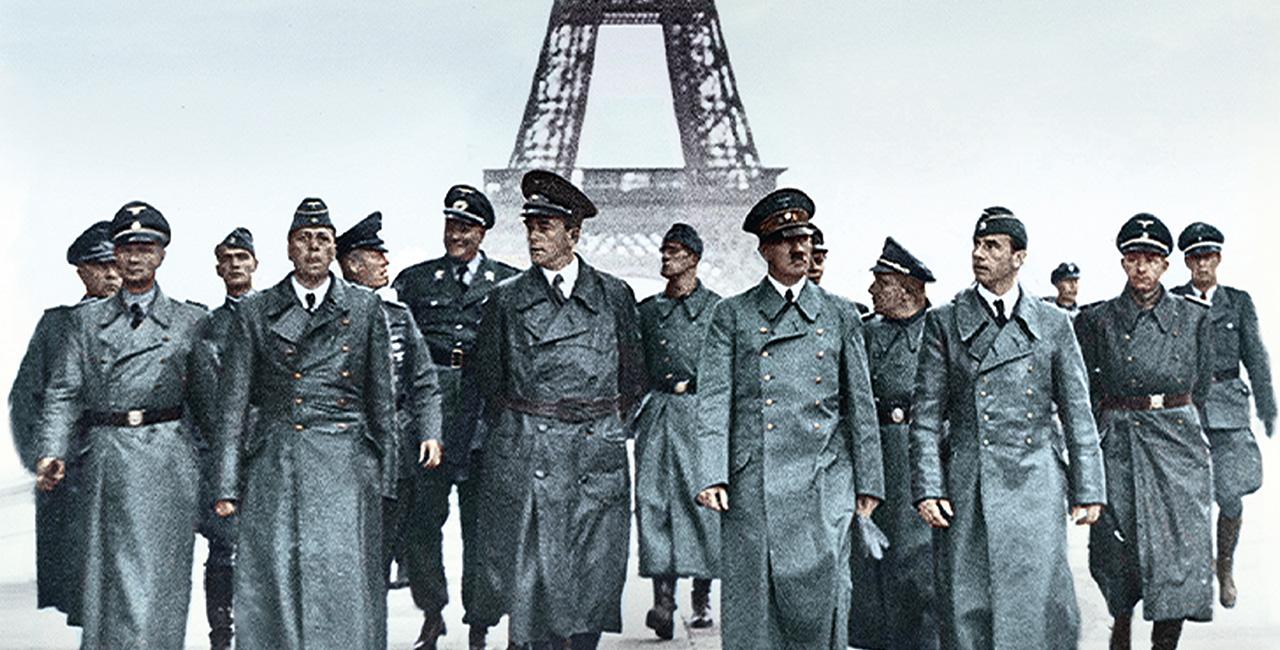 Bannière Apocalypse, Hitler attaque à l'ouest – 1940