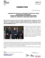 Bannière Lancement des travaux de la résidence d'artiste de l'ECPAD par Geneviève Darrieussecq